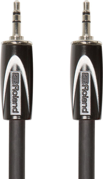 Roland RCC-5-3535 5FT / 1.5M INTERCONNECT CABLE, 3.5MM TRS-3.5MM TRS, BALANCED