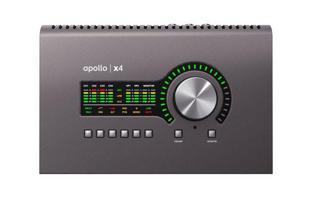 Universal Audio Apollo x4 Mic x4 DSP, TB3, Heritage Ed.