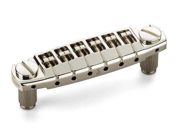 Schaller Signum Guitar Bridge - Nickel