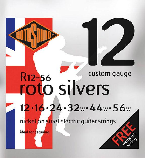 Rotosound R12-56 Roto Silvers - Custom 12-56