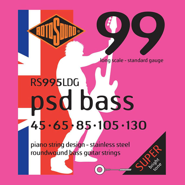 Rotosound PSD Bass 99 - Stainless Steel 5-str 45-130