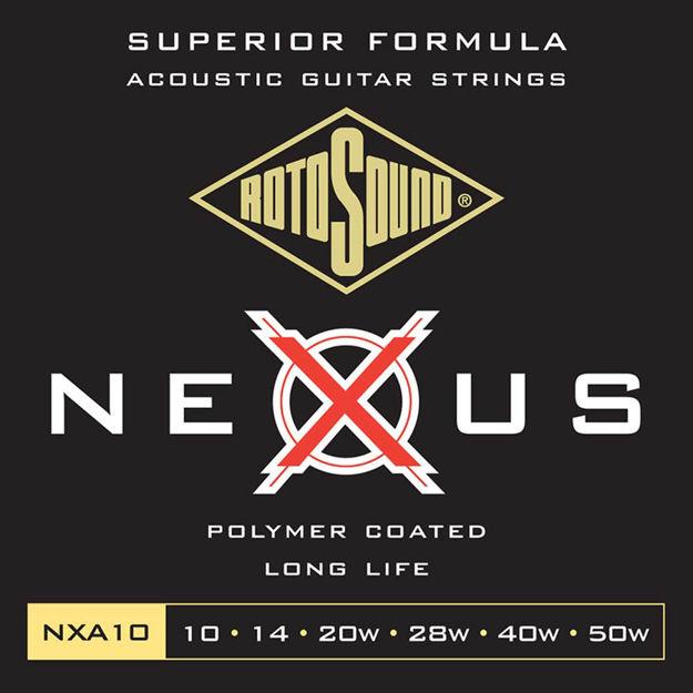 Rotosound NXA10 Nexus Acoustic - Extra Light 10-50