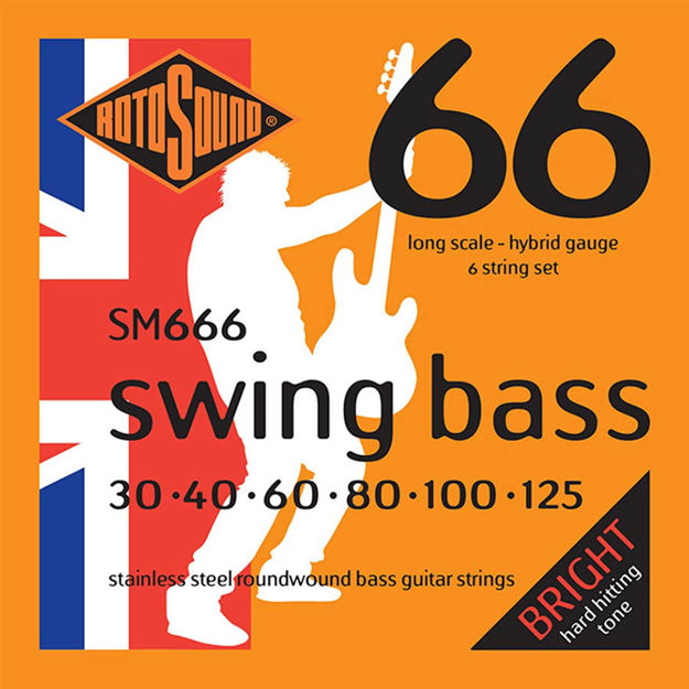 Rotosound SM666 Swing Bass 66 - 6-str 30-125