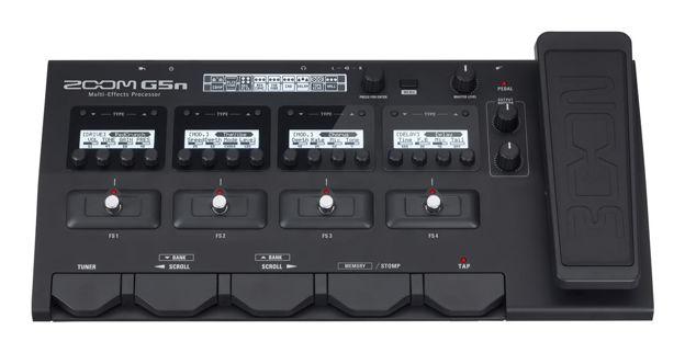 Zoom G5n gitar effekt og amp simulator
