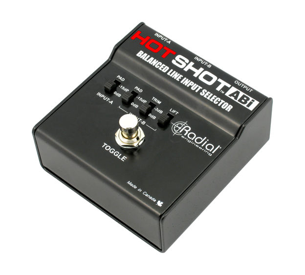 Radial HotShot ABI Balanced footswitch selector