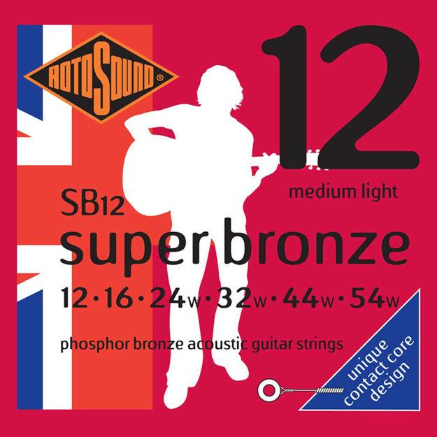 Rotosound SB12 Super Bronze - Medium Light 12-54
