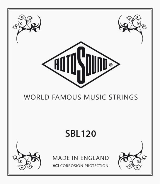 Rotosound Stainless Steel Single 120