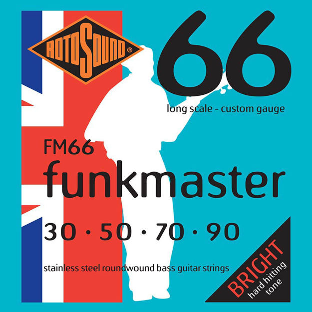 Rotosound FM66 Swing Bass 66 - Funkmaster 30-90
