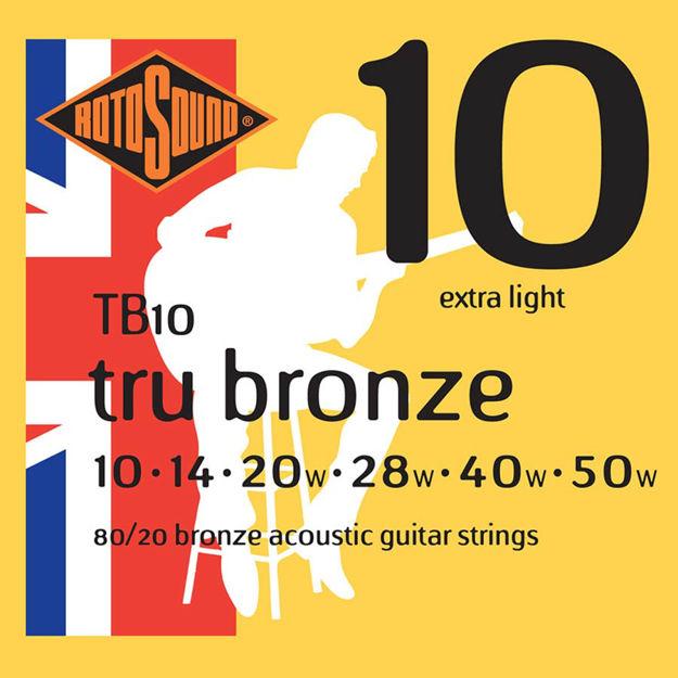 Rotosound TB10 Tru Bronze - Extra Light 10-50