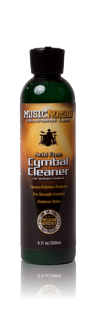 Music Nomad Cymbal Cleaner - Cleans, Polishes & Protects