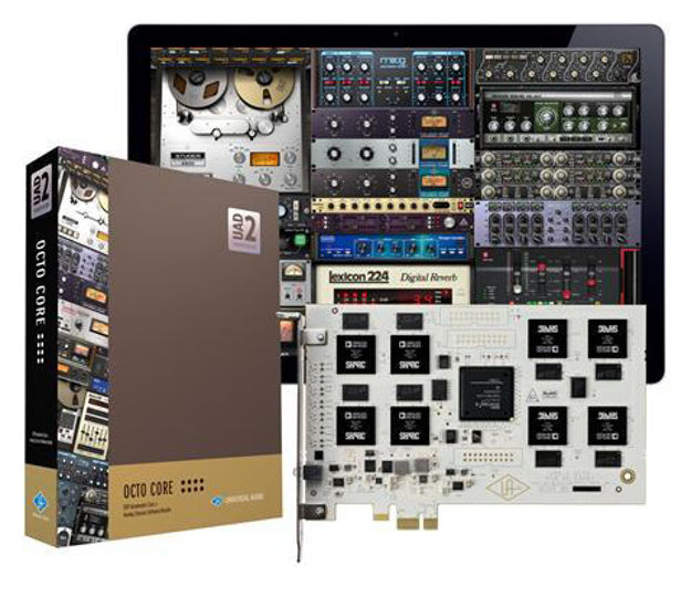Universal Audio UAD-2 Octo Core DSP card (x8 DSP) PCIe