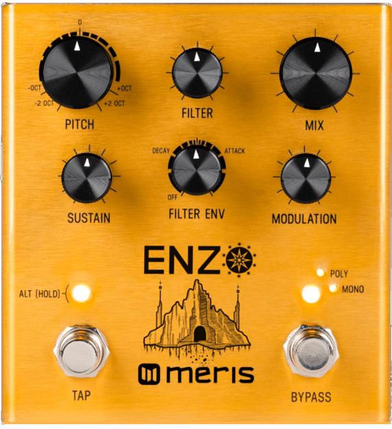 Meris - Meris Enzo - Multi-Voice Synthesizer Pedal