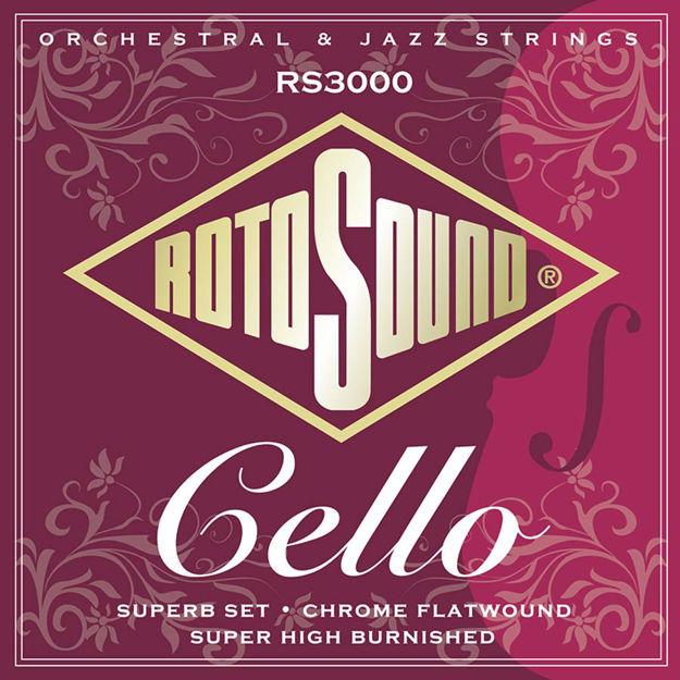 Rotosound Superb Cello Set