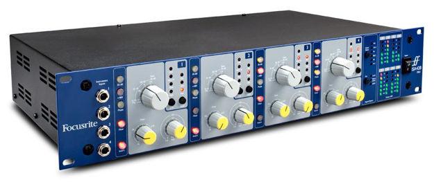 4 x Focusrite ISA mic pre med valgbar impedans