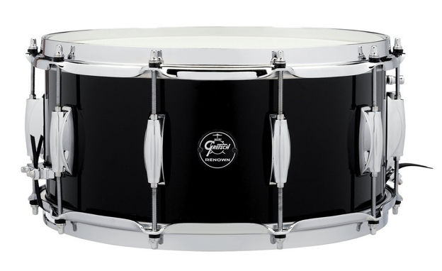 Gretsch Snare Drum Renown Maple - Piano Black