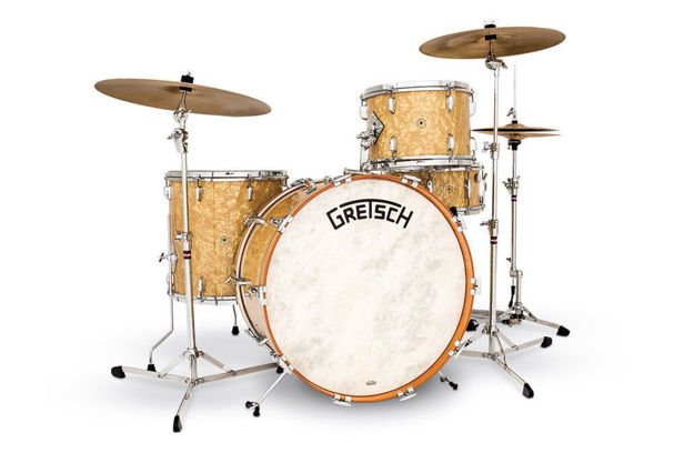"Gretsch Tom Tom USA Broadkaster Nitron Wrap - 14"" x 9"""