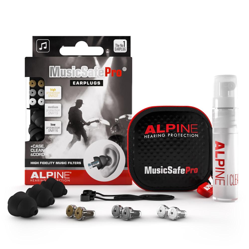 Alpine MusicSafe Pro earplugs black