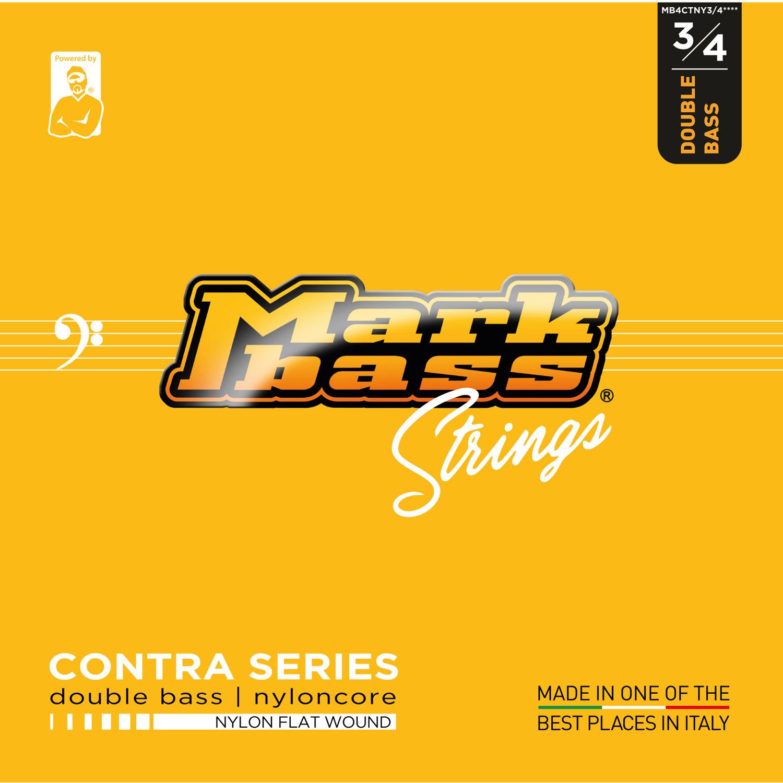 MB STRINGS DB NYLONCORE FLAT 3/4