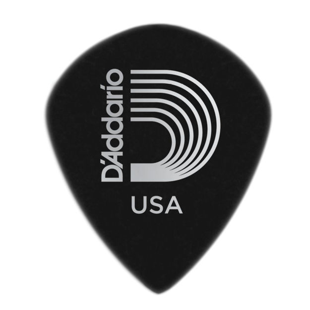 D'Addario Black Ice Guitar Picks, 25 pack, Medium