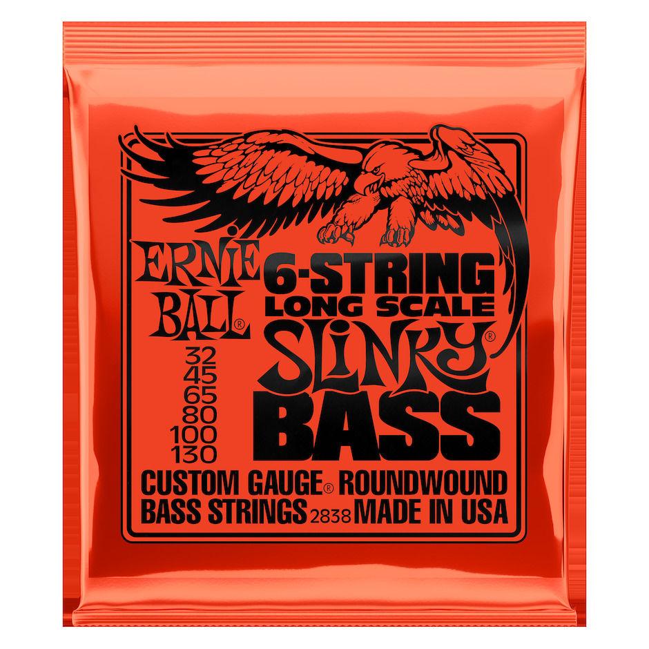 Ernie Ball EB-2838 6-STR Slinky Bass