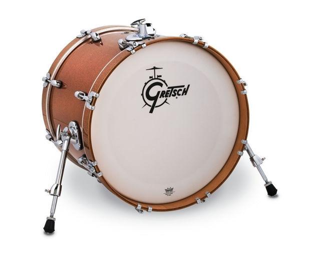 """Gretsch 18""""x14 Bass Drum Catalina Club - Bronze Sparkle"""