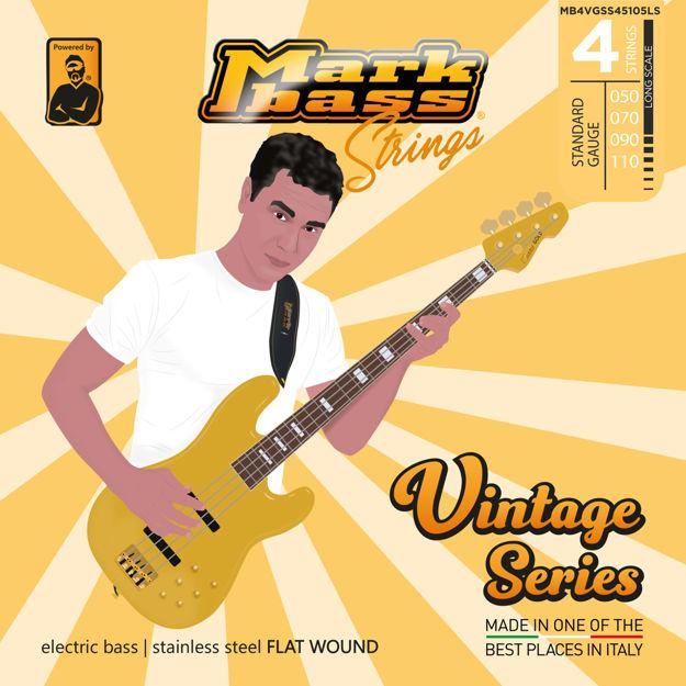 MB STRINGS VINTAGE FLAT 050-110