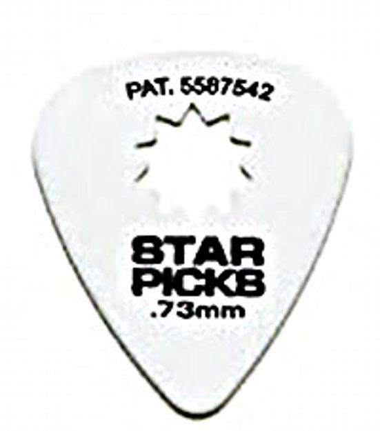 STAR PICKS BLISTER PACK (12 stk) 0,73MM White