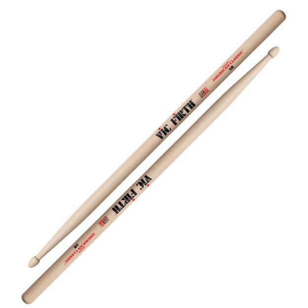 Vic Firth 5B American Classic® 5B Wood Tip