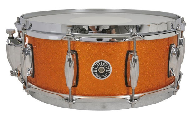 Gretsch Snare Drum USA Brooklyn - Gold Sparkle