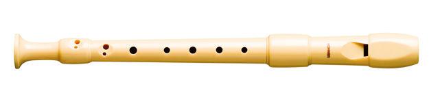 Hohner C-Soprano B9517, plastic, 2 parts, baroque, pb
