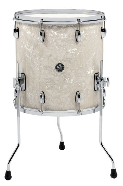 Gretsch Floor Tom Renown Maple - Turquoise Premium Sparkle