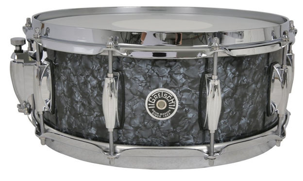 Gretsch Snare Drum USA Brooklyn - Deep Marine Black Pearl