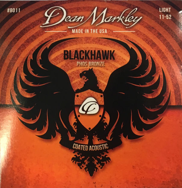Dean Markley AC BLACKHAWK Phosphor Bronze Light 11-52