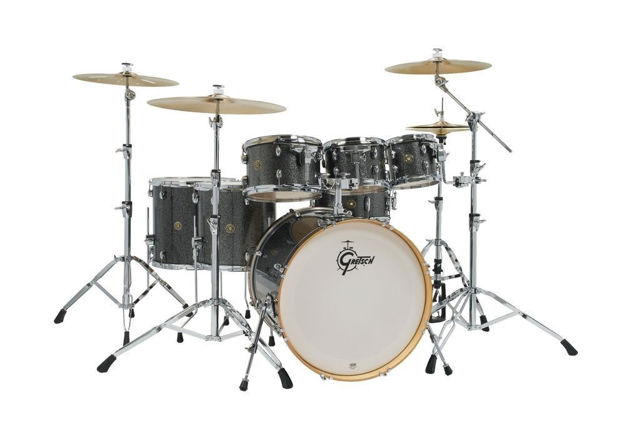 Gretsch shell set Catalina Maple - Black Stardust
