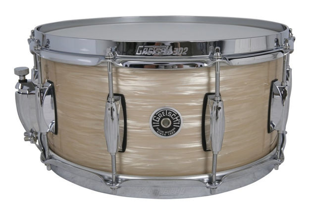 Gretsch Snare Drum USA Brooklyn - Cream Oyster