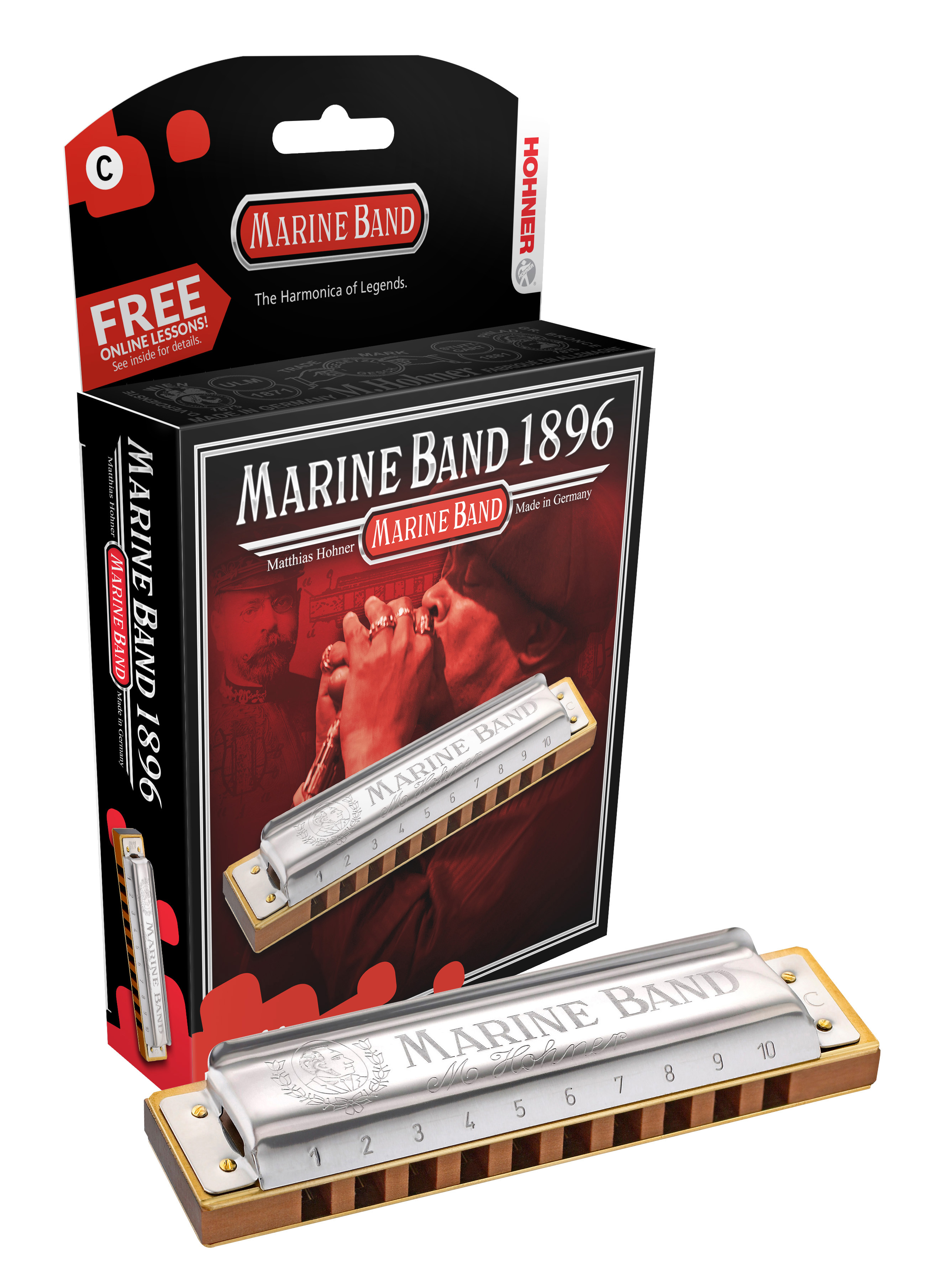 Hohner Marine Band 1896 C-major