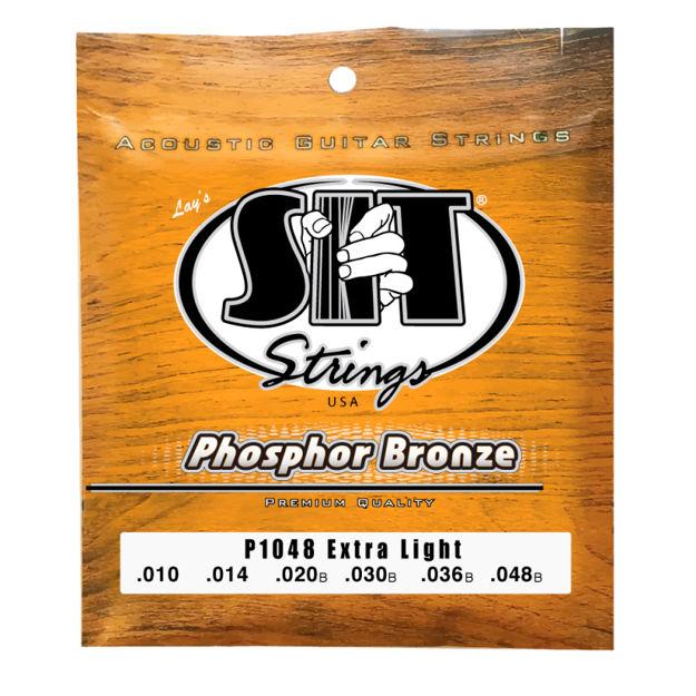 SIT AC Phosphor Bronze Ex.Light P1048