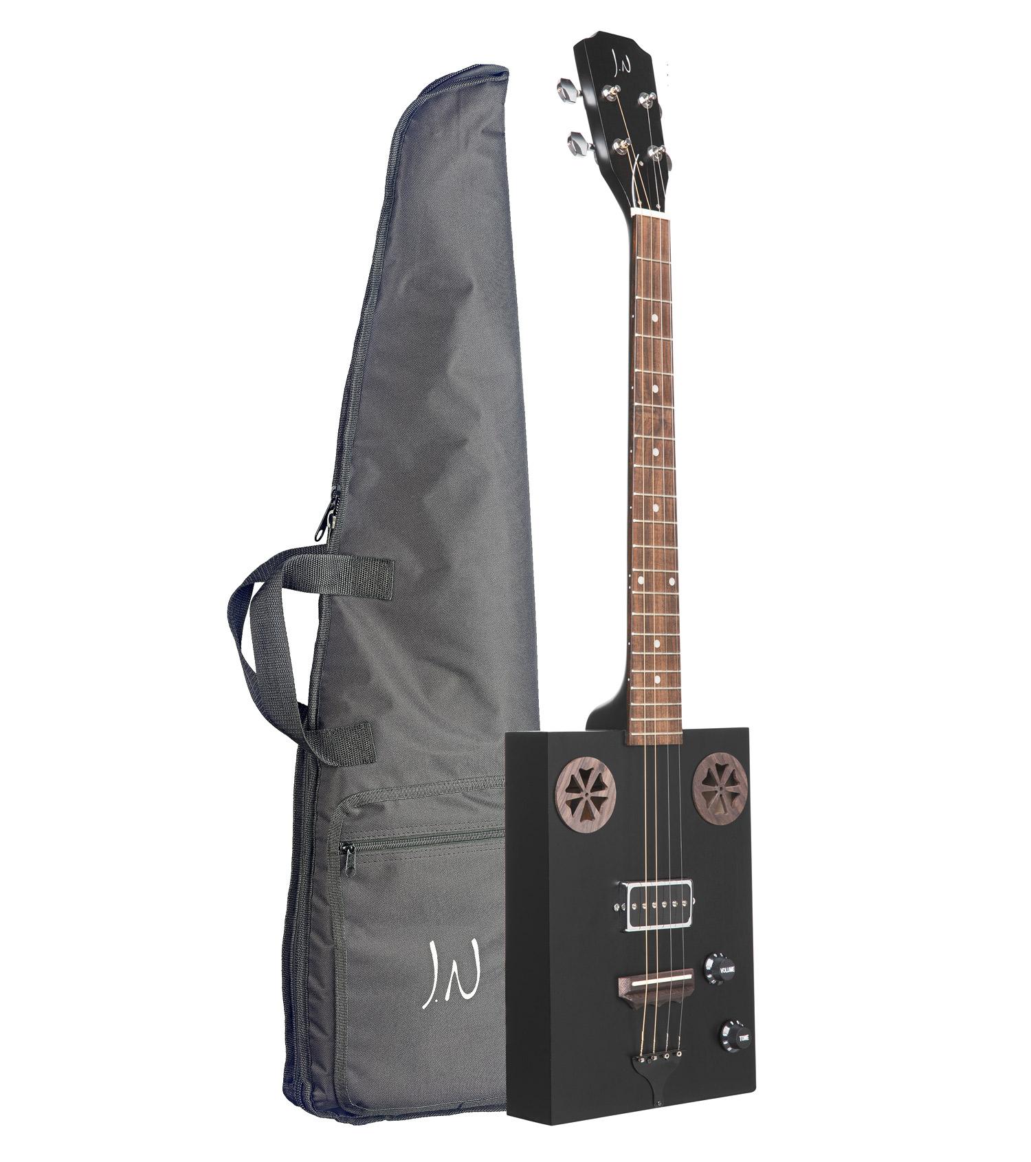 JN Guitars Cask Hogscoal Cigarbox m/bag