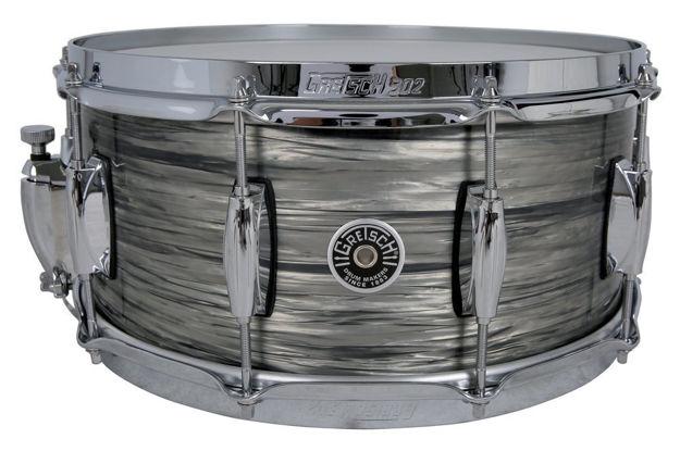 Gretsch Snare Drum USA Brooklyn - Grey Oyster