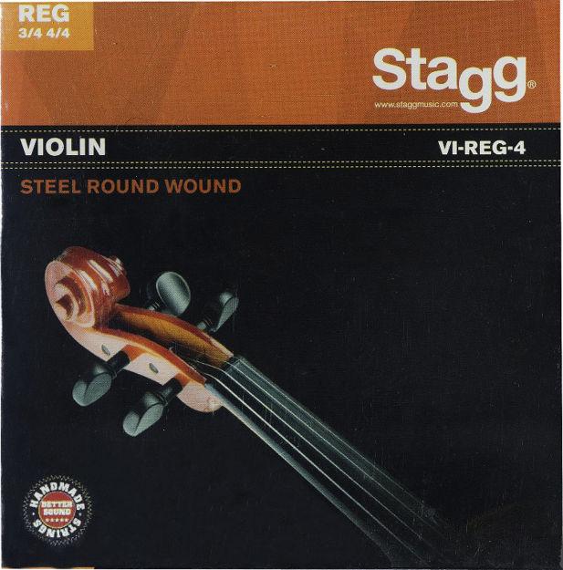 STAGG VI-REG-4 Fiolinstrenger (4/4  3/4)