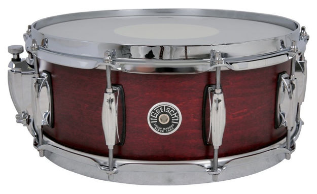 Gretsch Snare Drum USA Brooklyn - Satin Black Metallic