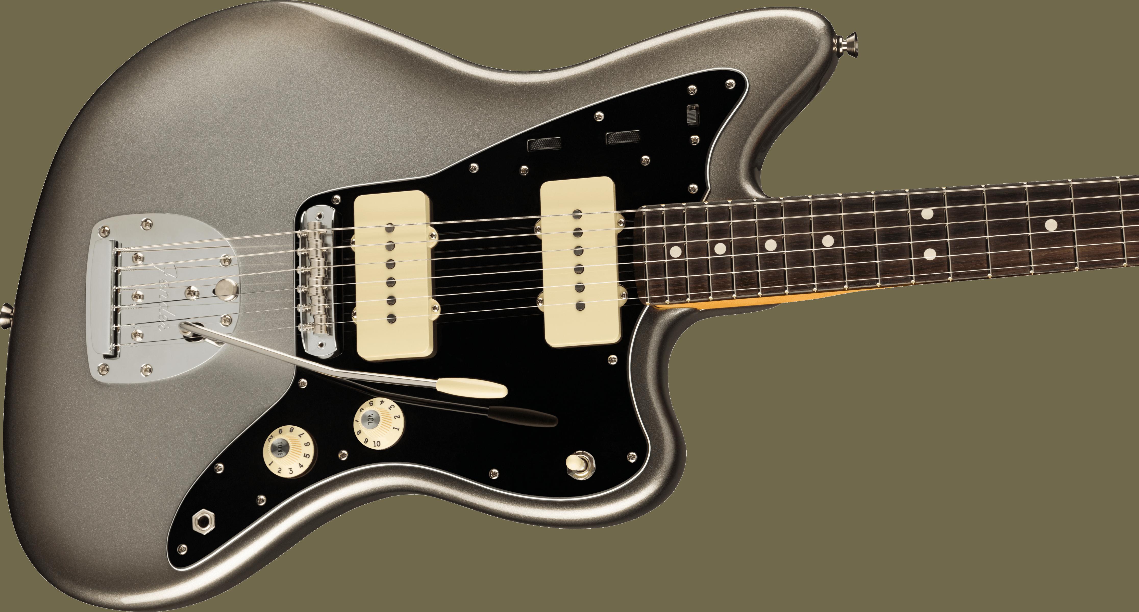 Fender American Professional II Jazzmaster®, Rosewood Fingerboard, Mercury