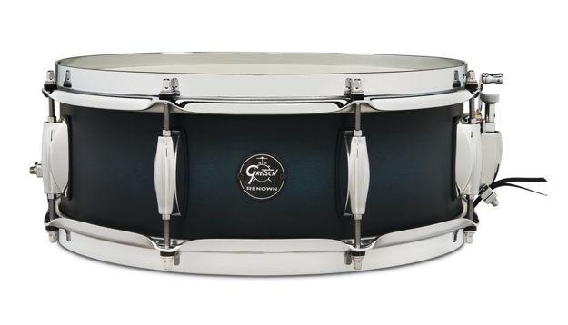 Gretsch Snare Drum Renown Maple - Satin Antique Blue Burst
