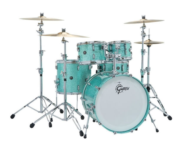 Gretsch shell set Renown Maple - Turquoise Premium Sparkle