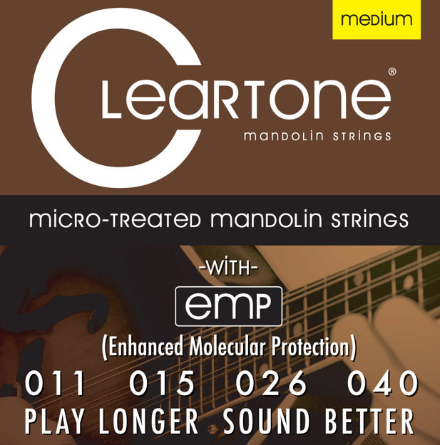 CLEARTONE MANDOLIN PHOSPHOR BRONZE MEDIUM 11-40
