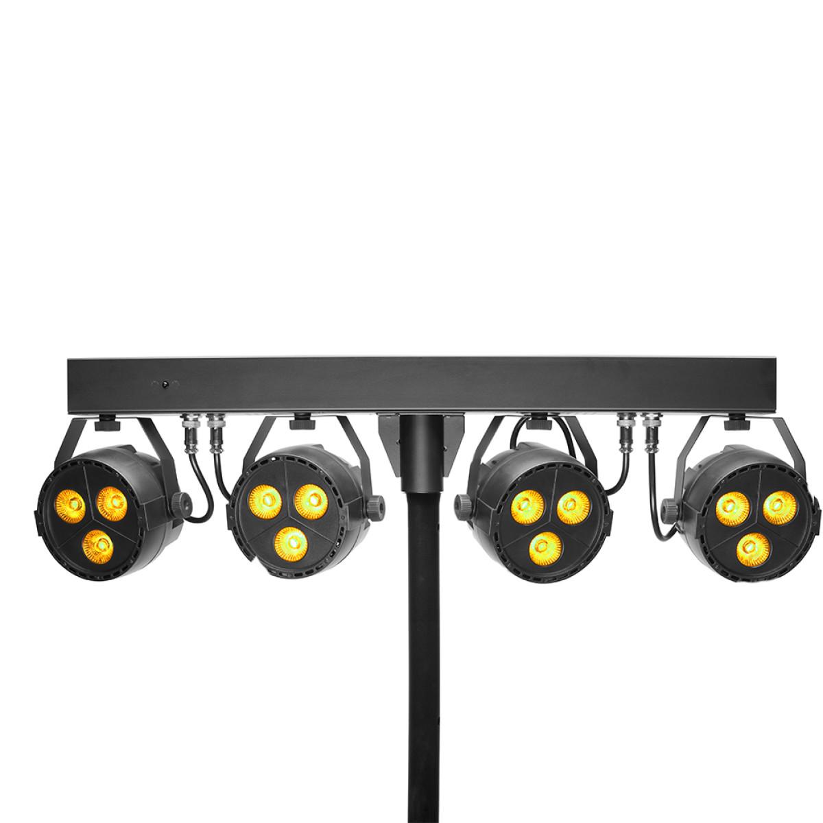 Stagg SLB 4P34-41-2 LED FLATPAR SET