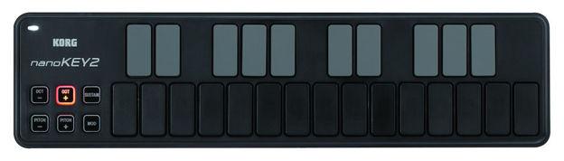 KORG Nanokey2-Bk Usb Controll.