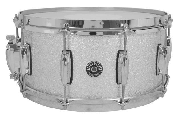 Gretsch Snare Drum USA Brooklyn - Silver Sparkle