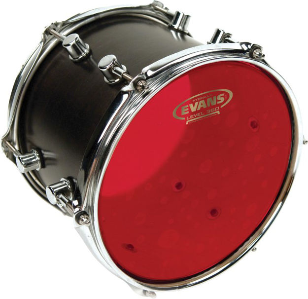 Evans Hydraulic Red Drum Head, 15 Inch