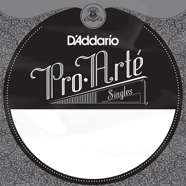 D'Addario J4601 Pro-Arte Nylon Classical Guitar Single String, Hard Tension, First String